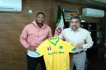 مهاجم سنگالی به تیم فوتبال صنعت نفت آبادان پیوست