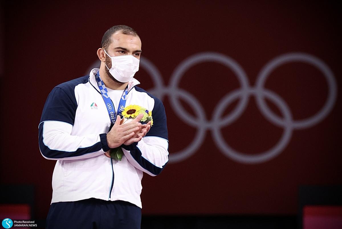 گزارش تصویری  کاروان ایران در روز پانزدهم المپیک 2020 توکیو