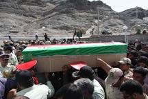 پیکر پاک شهید دریابانی در زاهدان تشییع شد