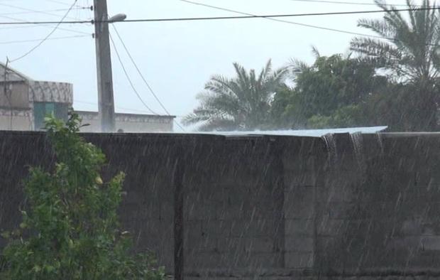 25 میلی متر باران در چاهان نیکشهر بارید