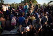 هزاران مهاجر برای ورود به آمریکا به مرز این کشور با مکزیک سرازیر شدند