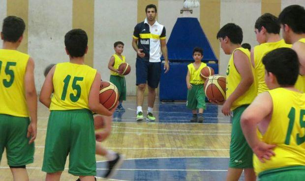 نخستین مدرسه تخصصی بسکتبال در بوشهر آغاز بکار کرد