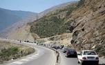 بارش برف و باران در جادههای 9 استان کشور/ جاده هراز مسدود شد
