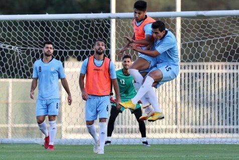 غیبت حسینی در تمرین تیم ملی؛ دوقلوها چالش تمرین شدند
