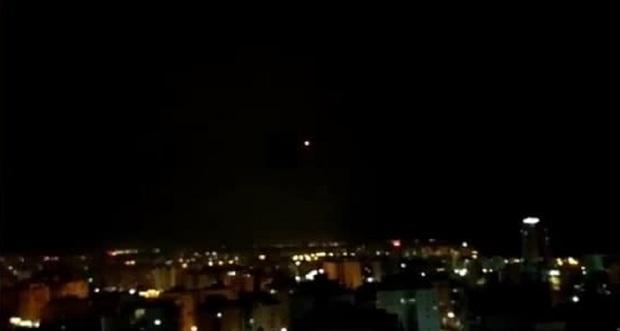 شلیک راکت از نوار غزه به سمت تل آویو + فیلم