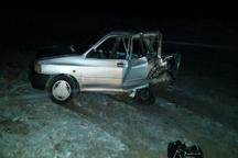 شش نفر در تصادف جاده قوچان مجروح شدند