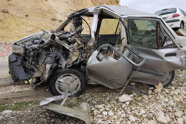تصادف در آزاد راه کرج_ تهران ۲ کشته داشت
